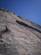Rock Climbing Photo: Ryan Howa belaying me and Chad up P4...photo credi...