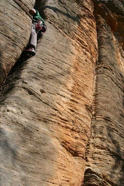 Rock Climbing Photo: Trying to hide... photo james otey