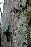 Rock Climbing Photo: I love low angle face climbing...