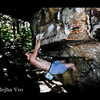 Working the Khadejha rail V10.  Peter's Kill.