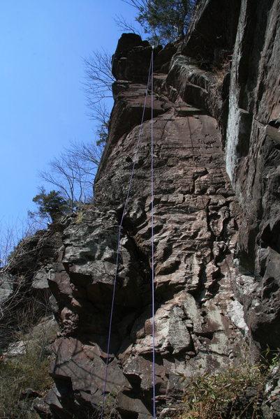 Rock Climbing Photo: Deaf and Dumb