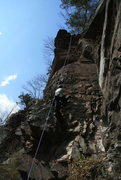 Rock Climbing Photo: Var. 1 start 5.6