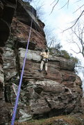 Rock Climbing Photo: the first bulge.