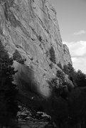 Rock Climbing Photo: B/w.