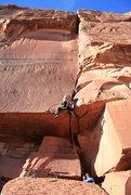 Rock Climbing Photo: Jake working it out