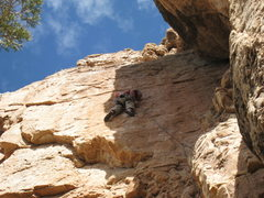 Rock Climbing Photo: Me on the headwall....