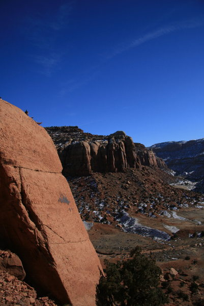 Rock Climbing Photo: near wavy gravy