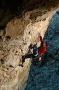 Rock Climbing Photo: Jonny G on Brown Sugar