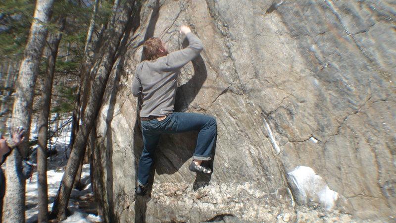 Me on Bad Ladder<br> <br>