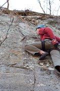 Rock Climbing Photo: Jeff on Lizards Tail