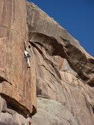 Rock Climbing Photo: Jonathan Schaffer likes the taste of Chocolate. Am...