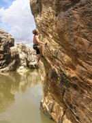 Rock Climbing Photo: we rated this one like a fun 5... out of 5 that is...
