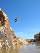 Rock Climbing Photo: the only way back to the boat... well unless your ...