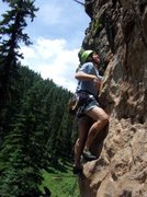 Rock Climbing Photo: Enjoying an early ascent of Grendal.