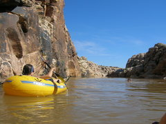 Rock Climbing Photo: we originally wanted a canoe, but these lil' rafts...