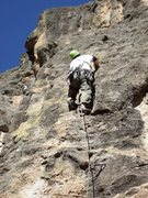 Rock Climbing Photo: Past the business on Demanda.