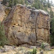 Rock Climbing Photo: Rope de Dope Block