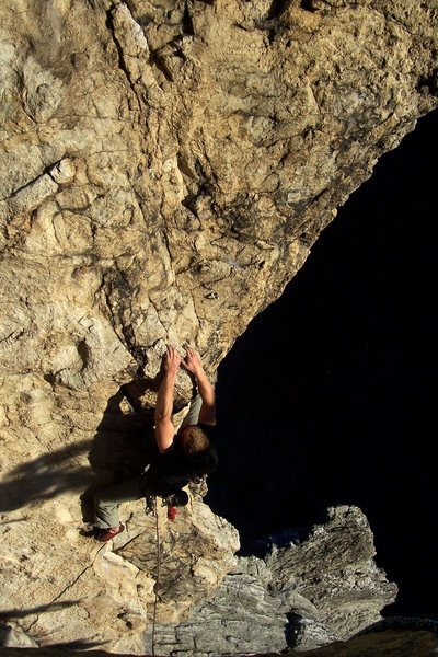 Rock Climbing Photo: Seneca at its finest: Spinnaker in the evening lig...