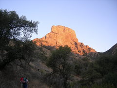 Rock Climbing Photo: approach from east