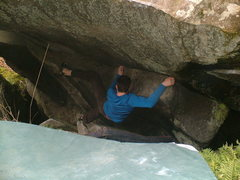 Rock Climbing Photo: Low on Mines of Moria