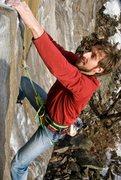Rock Climbing Photo: Technosurfing, Rumney. Photo by Seth Hamel.