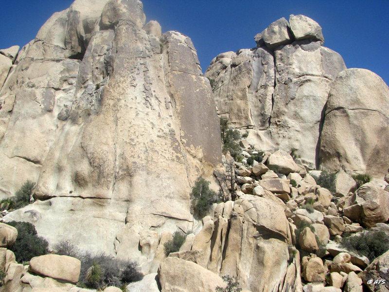 Rock Climbing Photo: Disneyland Dome and Thrutcher Dome