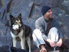 Rock Climbing Photo: Zane and me