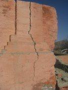 Rock Climbing Photo: Jugs to thin fingers...