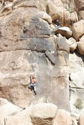 Rock Climbing Photo: Parker Fagrelius seconding. Photo by Scott Nomi.