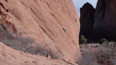 Rock Climbing Photo: I'd give it a 5.8-.
