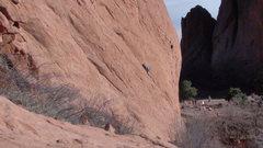 Rock Climbing Photo: I'd give it a 5.8-.