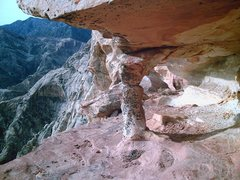 Rock Climbing Photo: Ever look up and wonder what is holding up those s...