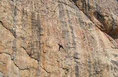 Rock Climbing Photo: On a .10b whose name escapes me in Church Dome. Th...