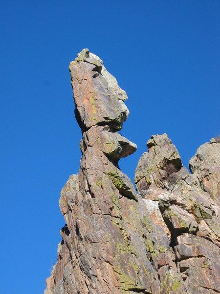 The moai of the Poudre Canyon.
