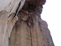 Rock Climbing Photo: Jeremy Steck on Indian Summer.