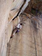 Rock Climbing Photo: Jeremy Steck climbing the corner next to Indian Su...