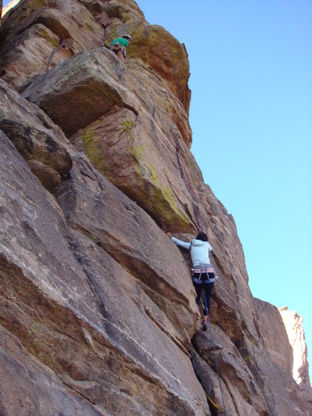 "Rock Climbing Photo: me in ""action"""