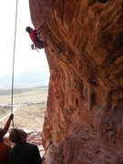 Rock Climbing Photo: its steep