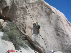 Rock Climbing Photo: Starting the easy part of Chemical Warfare.