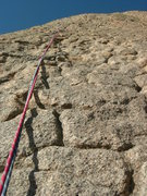 Rock Climbing Photo: Case-hardening on desert granite. Moby Dick.  The ...