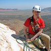Gwen at the top of pitch 5, <em>[[105732419]]</em>.<br> <br> March 16, 2009