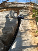 Rock Climbing Photo: Past the business section of Muscle Shoals.
