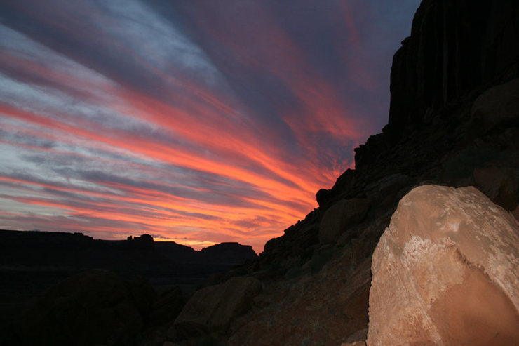 Rock Climbing Photo: cat wall sunsets are some of the best views in the...