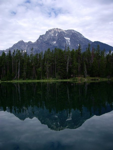 Mt Moran from Leigh Lake