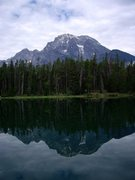 Rock Climbing Photo: Mt Moran from Leigh Lake