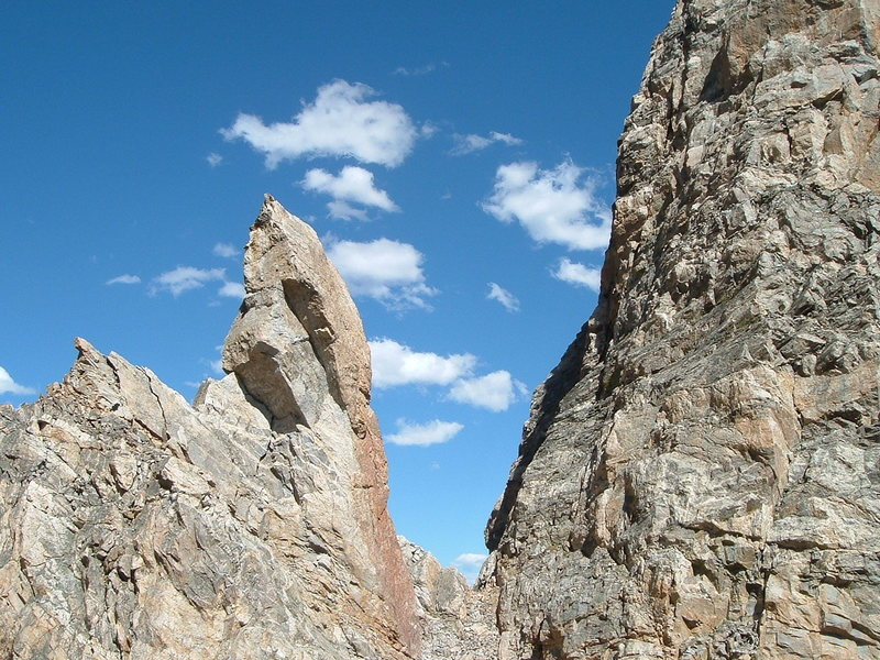 Rock Climbing Photo: Red Sentinel from the southwest.