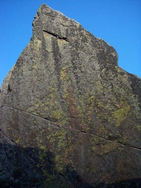 Rock Climbing Photo: The Diamond in Glenwood Canyon. How to be Bitchin'...