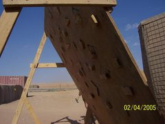 Rock Climbing Photo: Homemade woody in Ar Rutbah, Iraq.