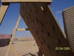 Rock Climbing Photo: Homemade woody in Ar Rutbah, Iraq.