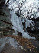 Rock Climbing Photo: Chattanooga ice!!